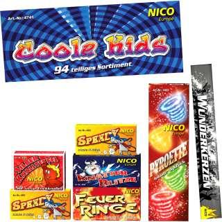 Coole Kids, 7 Schachteln sortiert