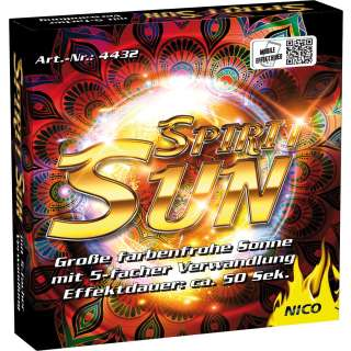 Spirit Sun, Effekt-Sonne