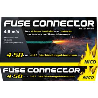 Fuse Connector, 4er-Schachtel
