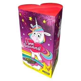 I love Unicorns, Fontänenbatterie